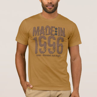Made in 1996 or Any Year Grunge Text MOCHA T-Shirt