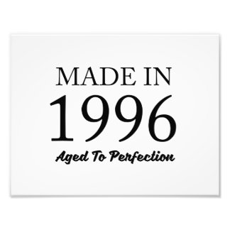 Made In 1996 Photo Print