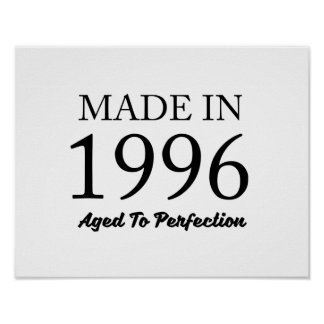 Made In 1996 Poster