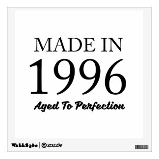 Made In 1996 Wall Decal