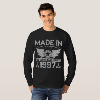 made in 1997 all original parts, made in, 1997, T-Shirt