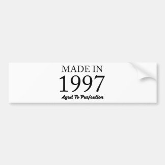 Made In 1997 Bumper Sticker