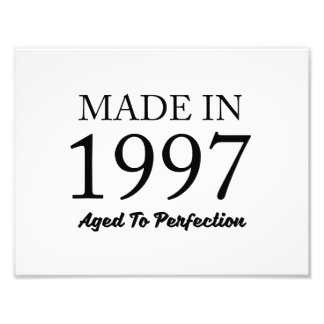 Made In 1997 Photo Print