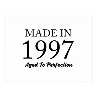 Made In 1997 Postcard