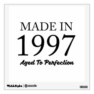 Made In 1997 Wall Sticker