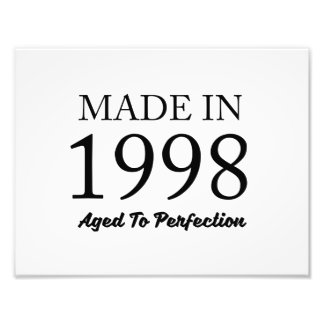 Made In 1998 Photo Print