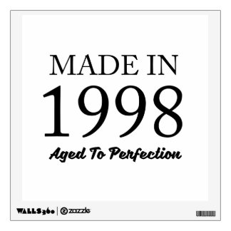 Made In 1998 Wall Decal