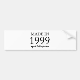 Made In 1999 Bumper Sticker