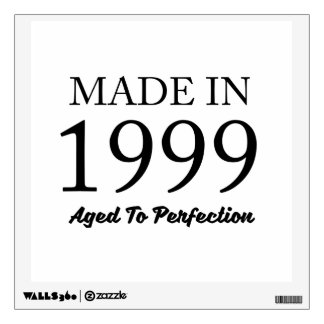 Made In 1999 Wall Sticker