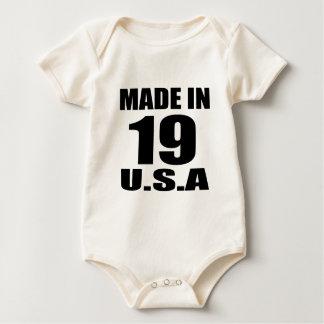 MADE IN 19 U.S.A BIRTHDAY DESIGNS BABY BODYSUIT