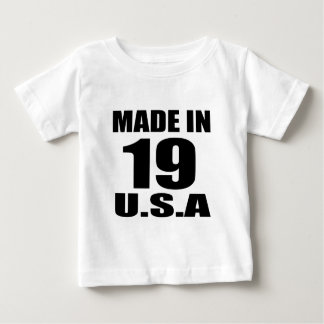 MADE IN 19 U.S.A BIRTHDAY DESIGNS BABY T-Shirt