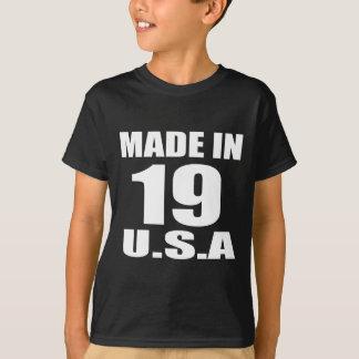 MADE IN 19 U.S.A BIRTHDAY DESIGNS T-Shirt