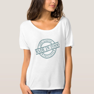 Made in 2000 Circular Stamp Style Logo Women's T-Shirt