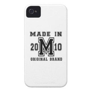 MADE IN 2010 ORIGINAL BRAND BIRTHDAY DESIGNS iPhone 4 CASE