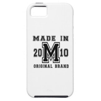MADE IN 2010 ORIGINAL BRAND BIRTHDAY DESIGNS iPhone 5 COVERS