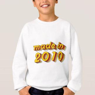 Made in 2010 (Yellow&Red) Sweatshirt