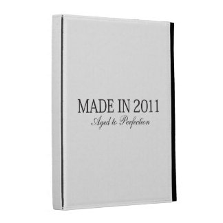 Made in 2011 iPad folio cover