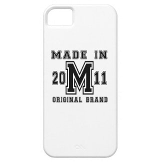 MADE IN 2011 ORIGINAL BRAND BIRTHDAY DESIGNS iPhone 5 COVER