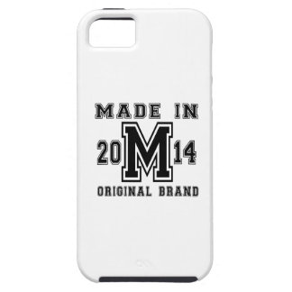 MADE IN 2014 ORIGINAL BRAND BIRTHDAY DESIGNS iPhone 5 COVER