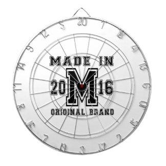 MADE IN 2016 ORIGINAL BRAND BIRTHDAY DESIGNS DARTBOARD