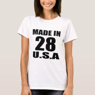 MADE IN 28 U.S.A BIRTHDAY DESIGNS T-Shirt