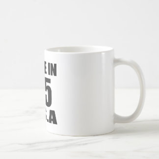 MADE IN 35 U.S.A BIRTHDAY DESIGNS COFFEE MUG