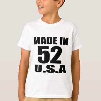 MADE IN 52 U.S.A BIRTHDAY DESIGNS T-Shirt