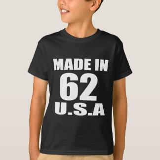 MADE IN 62 U.S.A BIRTHDAY DESIGNS T-Shirt