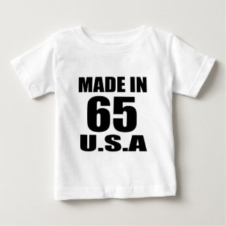 MADE IN 65 U.S.A BIRTHDAY DESIGNS BABY T-Shirt