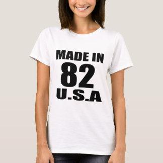 MADE IN 82 U.S.A BIRTHDAY DESIGNS T-Shirt