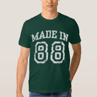 Made in 88 shirts