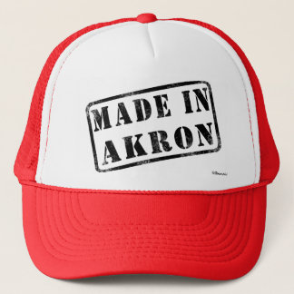 Made in Akron Trucker Hat