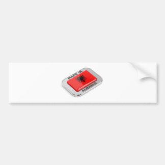 Made in Albania Bumper Sticker
