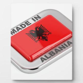 Made in Albania Plaque