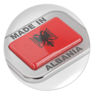 Made in Albania Plate