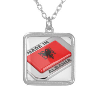 Made in Albania Silver Plated Necklace