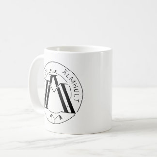 Made in Älmhult mug wht/blk