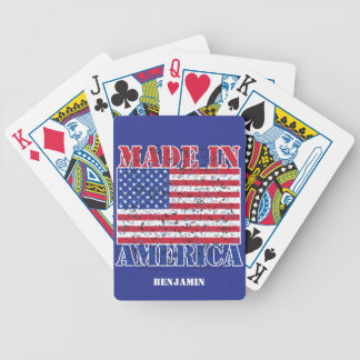 Made in America Bicycle Playing Cards