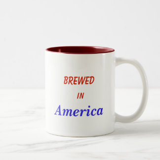 Made in America coffee cup