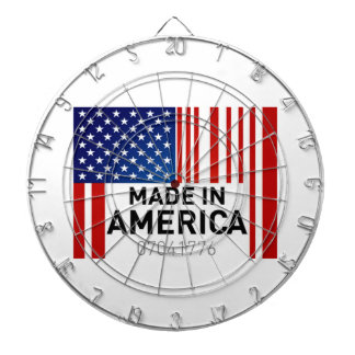 Made in America Dart Board USA Military