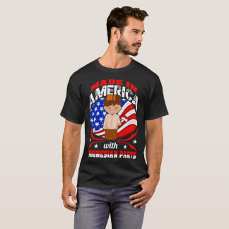 Made In America Indonesian Parts Country Tshirt