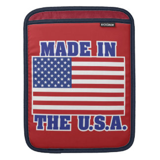 Made in America iPad Sleeve