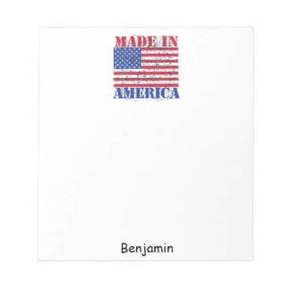 Made in America Notepad