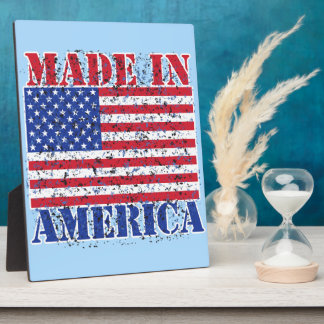 Made in America Plaque