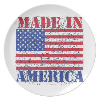 Made in America Plate