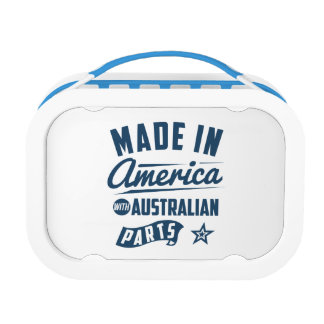 Made In America With Australian Parts Lunch Box