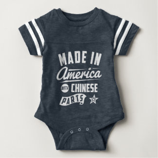 Made In America With Chinese Parts Baby Bodysuit