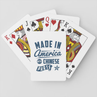 Made In America With Chinese Parts Poker Deck