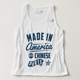 Made In America With Chinese Parts Tank Top