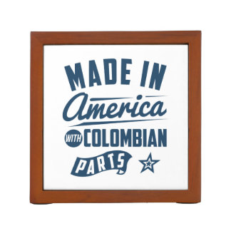 Made In America With Colombian Parts Desk Organizer